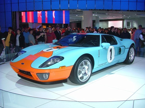 The Unique Blue And Orange Heritage Edition Ford Gt Is A Rare Piece That Symbolizes