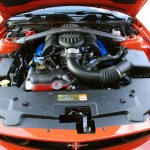 1st Production 2012 Mustang Boss 302 engine