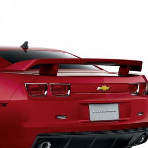 2012 Camaro High Wing Spoiler (Source - GM)