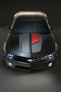 2012 Chevrolet Camaro 45th Anniversary top (Source GM)