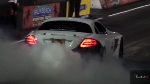 World Record RENNtech SLR Burnout