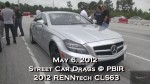 Drag Test Video !! 2012 RENNtech Mercedes Benz CLS63 AMG  – New 1/4 mile record – 10.79 @ 130.77 mph – Road Test TV