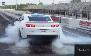 2012 Camaro ZL1 smokey burnout
