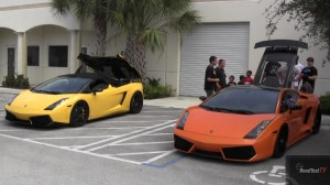 Underground Racing Twin Turbo Gallardo vs. Heffner TT Gallardo Spyder