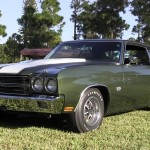 1970 Chevelle SS 396 Forest Green L34 1