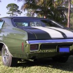 1970 Chevelle SS 396 Forest Green L34 2