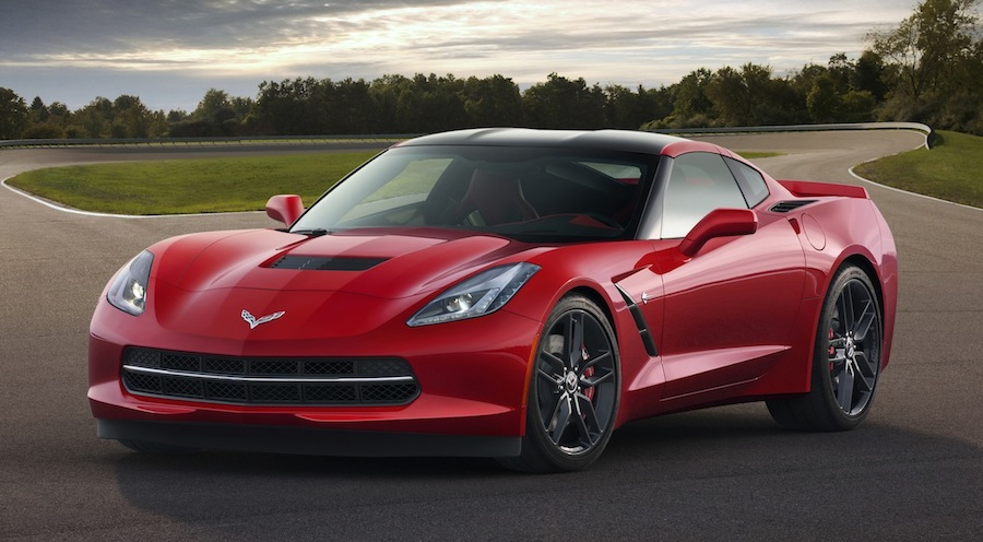 2014 Chevrolet Corvette Stingray Front 3/4