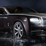 2014 Rolls Royce Wraith Action