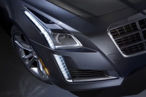 2014 Cadillac CTS Sedan Teasers 4