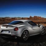 2014 Alfa Rome 4C Rear Angle
