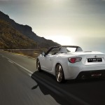 Toyota FT 86 Open Concept Rear Action View