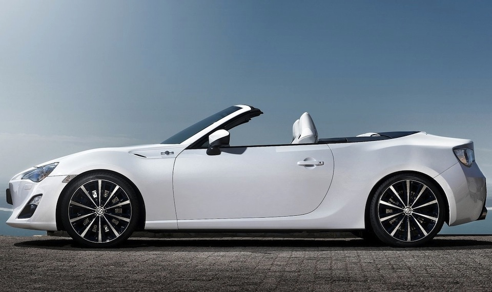 Toyota FT 86 Open Concept Side View