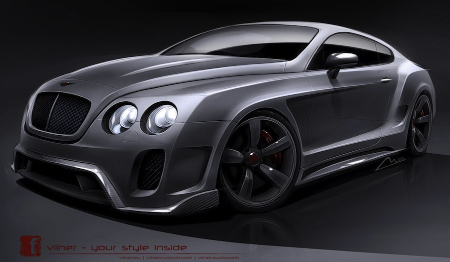 Vilner Bentley Continental GT 01