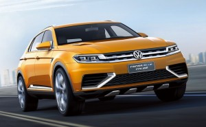 Volkswagen CrossBlue Coupe Concept 01