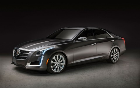 2014 Cadillac CTS Front view: Photo Credit; MotorTrend