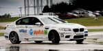 Johan Schwartz sets longest drift record in BMW M5 at 51.278 miles