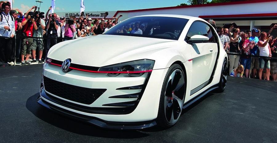 Volkswagen Design Vision GTI Concept 1