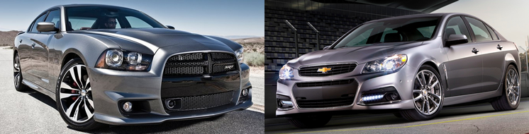 Dodge Charger SRT vs Chevy SS