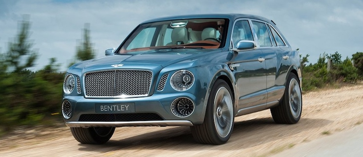 Bentley EXP 9F Concept