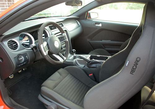 Honda Paint Recall >> 1st Production 2012 Mustang Boss 302 interior | RoadTest TV
