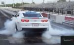 2012 Camaro ZL1 smokey burnout