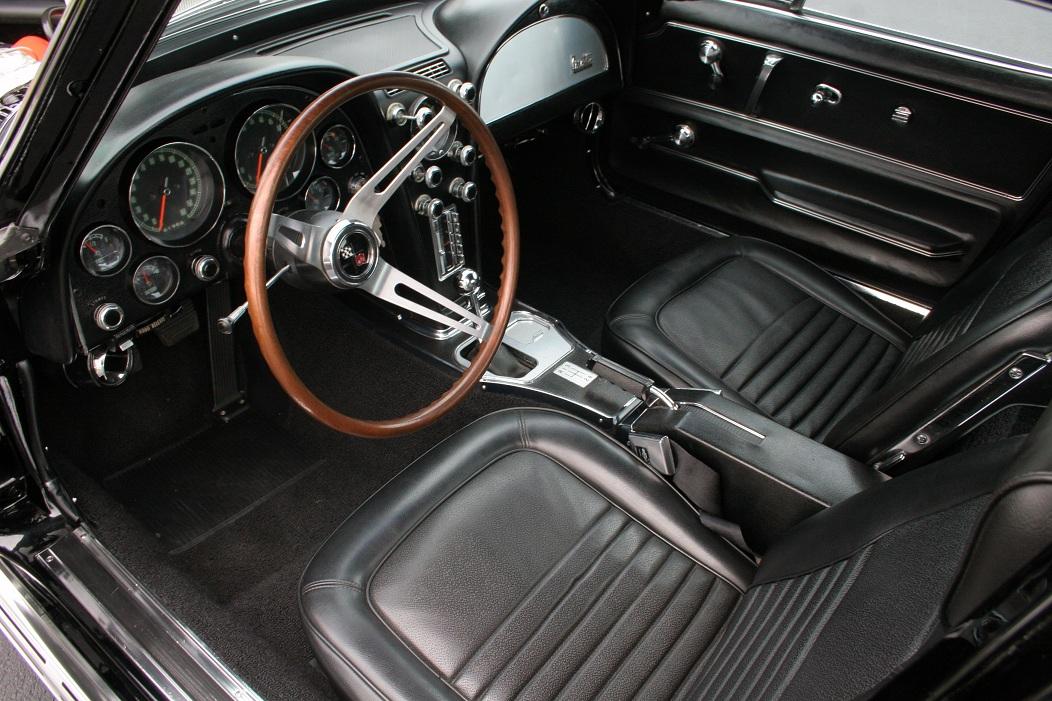 1967 Corvette Stingray 427 Coupe Interior Roadtest Tv